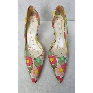 Anne Klein Women Shoes Heels Pointed D'Orsay 7.5M